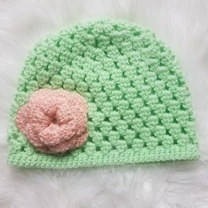 Other - Handmade Crochet Hat Sz 6-18 months